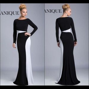 Black and white dress by Janique